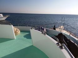 Bateau de plongée mer rouge