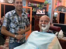 Barbier en Egypte